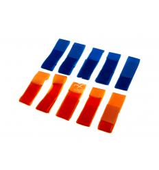 Fasce per Team Arancione/Blu