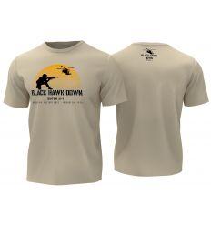 T-Shirt Black Hawk Down - Tan