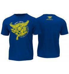 T-Shirt Navy Seals - Blue/Yellow