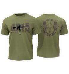 T-Shirt AR15 - OD