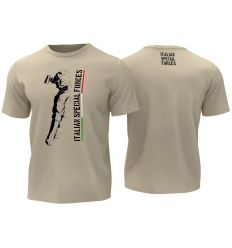 T-Shirt Italian Special Forces - Tan