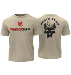 T-shirt Bravo Team - Tan