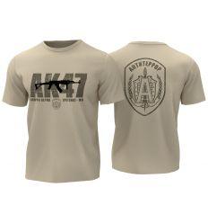 T-Shirt AK47 - Tan