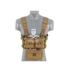 Micro MK3 Chest Rig - Coyote Brown