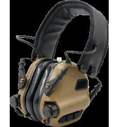 Earmor M31 Electronic Hearing Protector - Tan