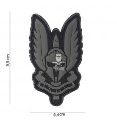 Patch spartan nera