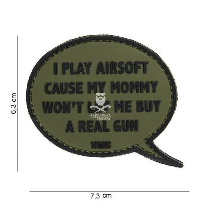 Patch i play airsoft