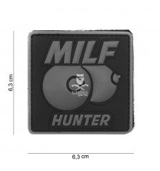 Patch milf hunter grigio