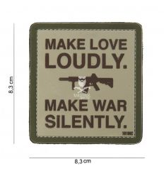 Patch make love loudly