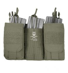 Warrior Detachable Front Panel MK1 (3x 5.56 Mag Pouches and 2 Utility Pouches) - Ranger Green