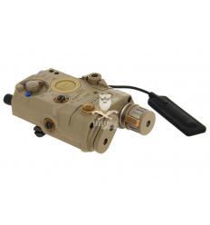 LA-5 UHP Illuminator / Laser Module Red - Tan