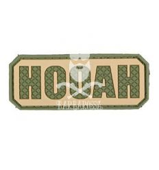 Patch hooah olive