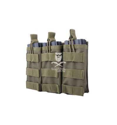 Tasca tripla porta caricatori da M4/M16 open top OD