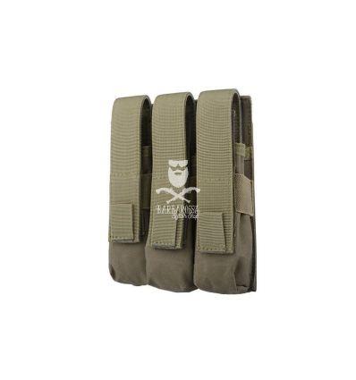 Tasca tripla porta caricatori MP5 Olive