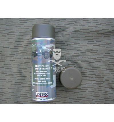 VERNICE SPRAY FOSCO OLIVE DRAB
