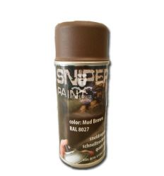 Vernice spray Mud Brown Ral 8027 FOSCO