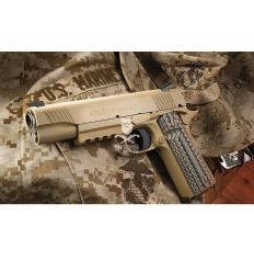 Colt 1911 Rail CO2 Desert Tan