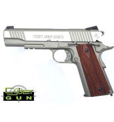 Colt 1911 Rail CO2 Silver