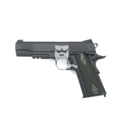 Colt 1911 Rail CO2 Nera Opaca