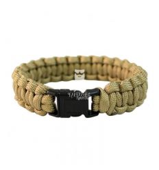 Braccialetto Militare in Paracord Coyote