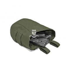 Warrior Roll Up Dump Pouch OD