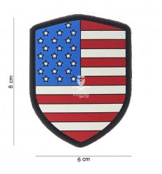 Patch 3D Scudo USA