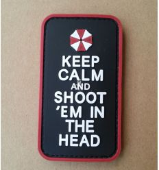 Patch Keep Calm and Shoot