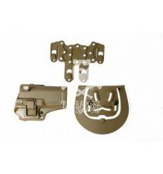 Fondina Rigida per Glock Tan
