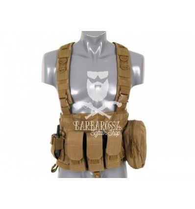 RRV Commando Recon Chest Harness Coyote