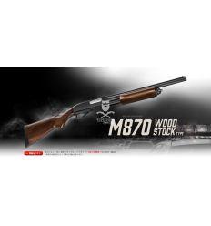 Tokyo Marui M870 - TACTICAL SHOTGUN - WOOD STOCK (Gas Powered)