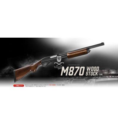Tokyo Marui M870 - TACTICAL SHOTGUN - WOOD STOCK