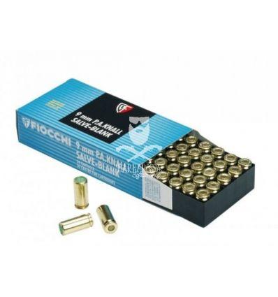 Fiocchi Munizioni a Salve da 9mm - 50 pz