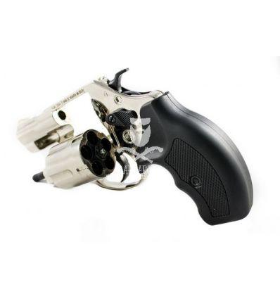 Bruni Revolver a Salve 9mm - Nickel