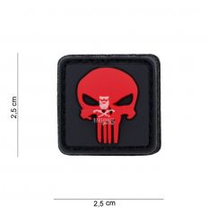 Patch 3D Punisher Red