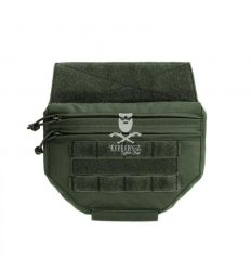 Warrior Drop Down Utility Pouch - OD