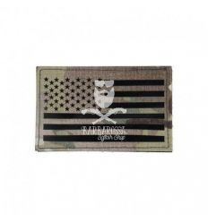 Patch US Flag Infrared Multicam