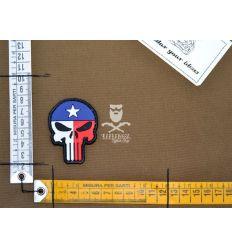 Patch Teschio Bandiera Texas