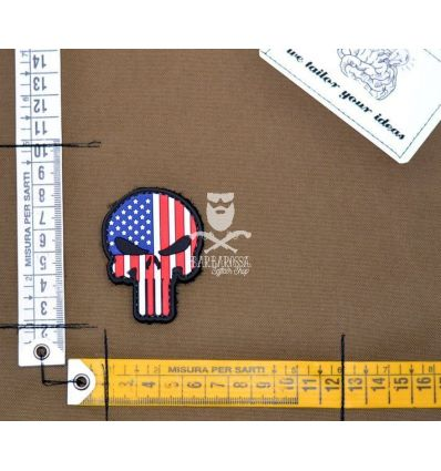 Patch 'Teschio Bandiera USA'