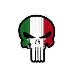Flag Skull Italia