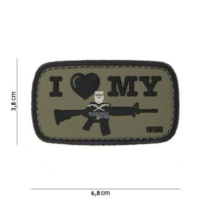 Patch I Love my M4 - OD