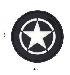 Patch Allied Star - Black