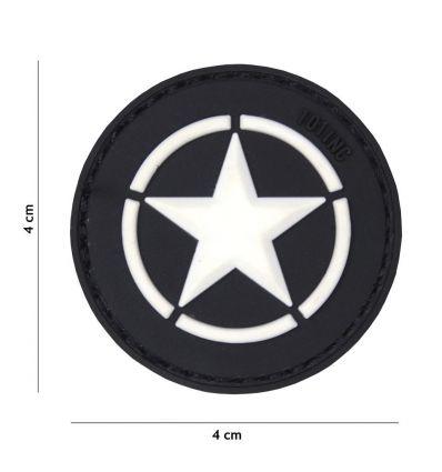 Patch Allied Star - Black
