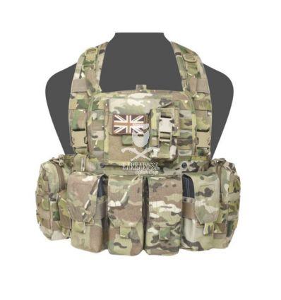 Warrior 901 Bravo M4 with Zip multicam