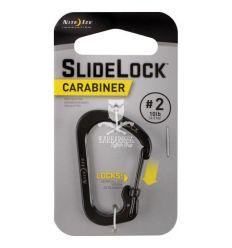 Nite Ize - SlideLock Carabiner - Black