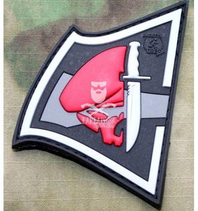 Patch Rebel Skull - Red