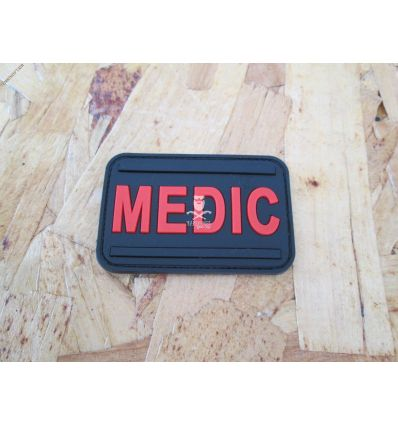 Patch 3D Medic - Red