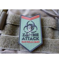 Patch Zombie Attack Rubber - Multicam