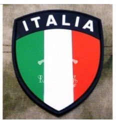 Patch Scudo Italia Rubber