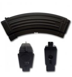 Caricatore Monofilare in Metallo da 90bb per AK47