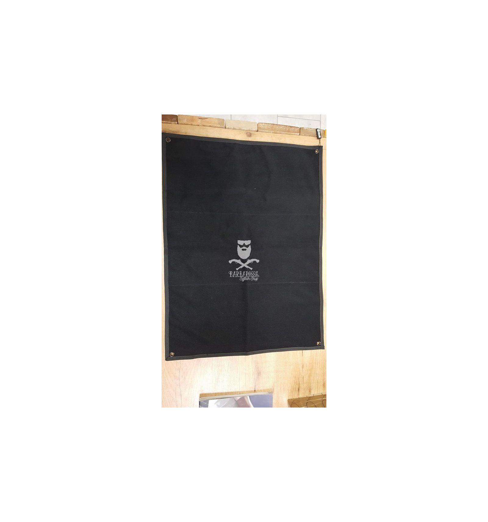 Pannello Porta Patch Velcrato - Black